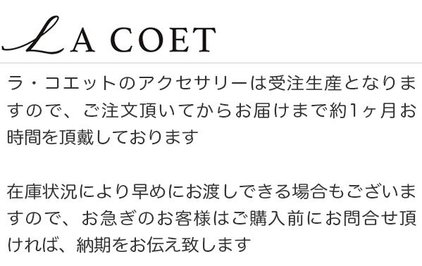 LA COET オーダーについて